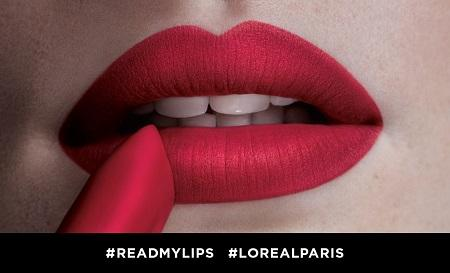 National Lipstick Day – L'Oréal Paris Colour Riche Matte Lipstick
