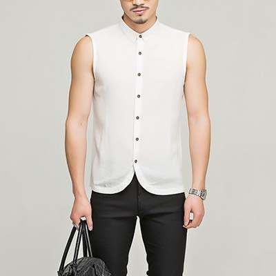A Case for the Sleeveless Button Down Shirt