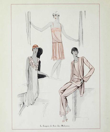 1920s Fashion - Paris 1928 - Lingerie by Molyneux