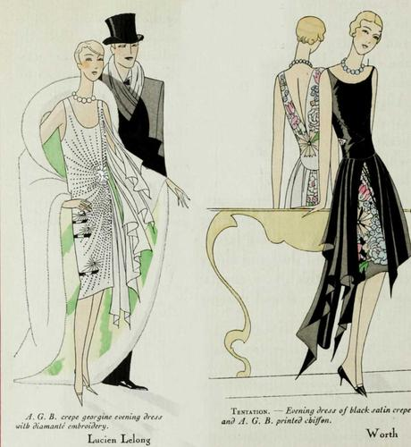 1920s Fashion - Paris 1928 - Worth and Lelong
