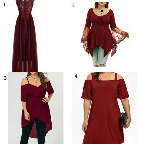 WISH LIST // RED HOT DRESSES FOR FALL