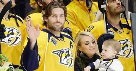 "Carrie Underwood Message To Husband  Mike Fisher, ""I Look Forward To Seeing What God Has In Store For You Next"""