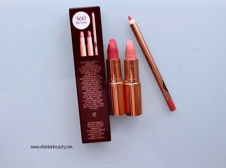 Charlotte Tilbury Hot Lips Lipstick Set in Nude