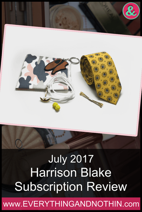 July 2017 Harrison Blake Subscription Review