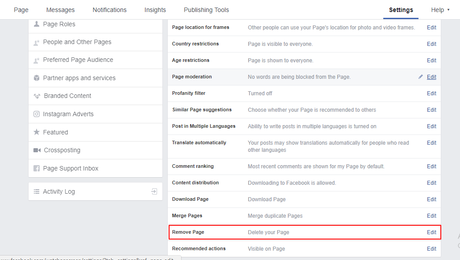 How To Delete Facebook Page in 4 Steps
