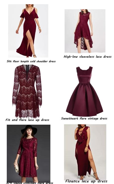 HOW TO WEAR A RED FLARE DRESS FROM ROSEGAL
