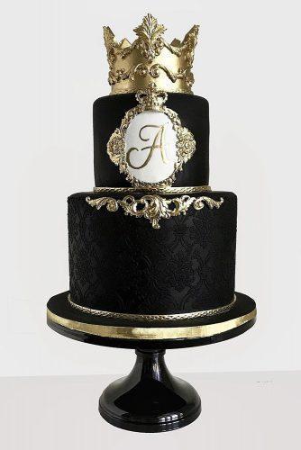 Black And Gold Wedding Cake Ideas George S Blog
