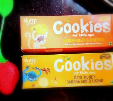 Cookies made of whole wheat and preservative free. A perfect option for kids.