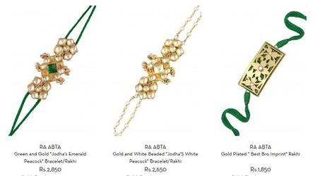 Ra Abta - Designer Rakhis for your brother at Pernia's Pop-up Shop