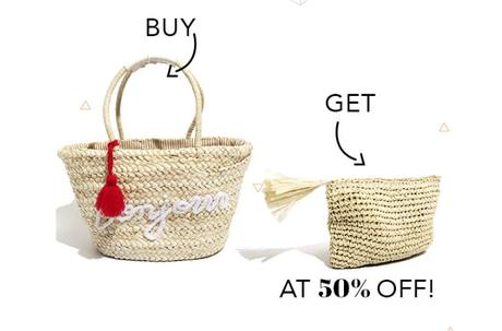 Pipa Bella offers 2nd jewelery for half of the price, offer available until 9th August.