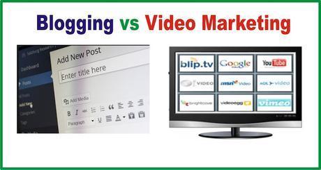 Blogging vs Video Marketing