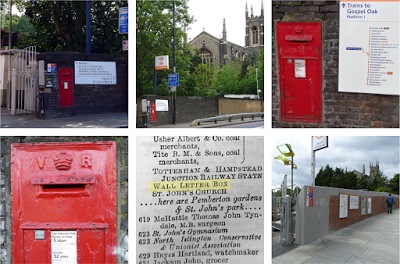 A lost letterbox in Upper Holloway, and some other posbos conunundrums