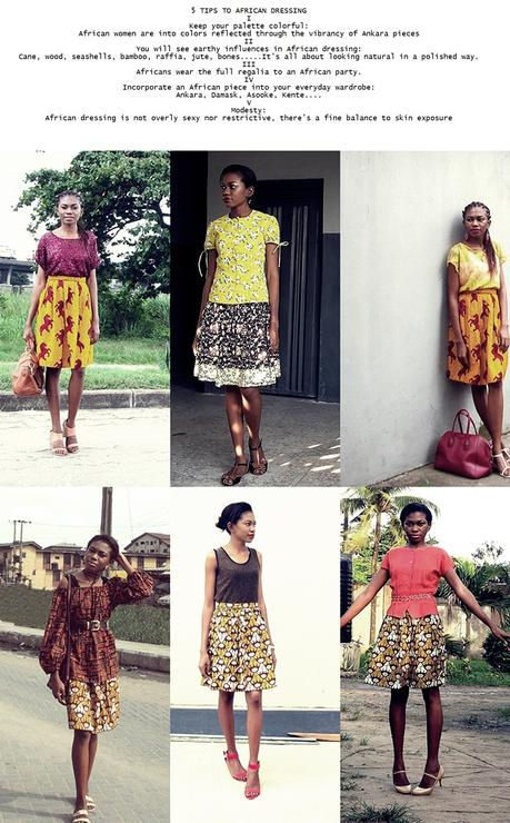 AFRICAN STYLE // 5 TIPS TO AFRICAN DRESSING