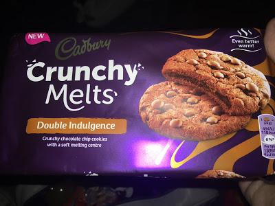 Today's Review: Cadbury Crunchy Melts Double Indulgence