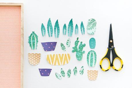 Crate Paper Design Team : Succulent & Cactus Frame