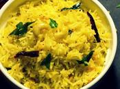 Green Mango Rice Mamidikaya Pulihora Andhra Cuisine