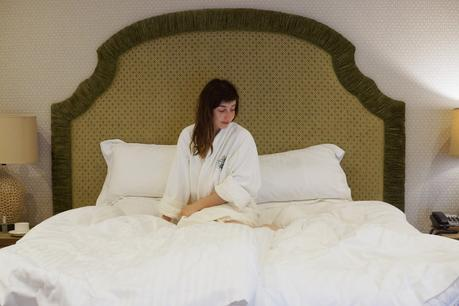 Hello Freckles Girly Evening Spa Wynyard Hall Hotel Review North East England