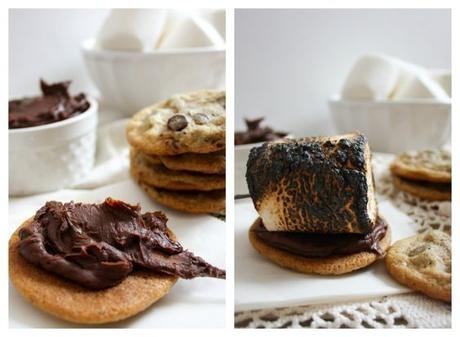 S'mores Cookie Sandwiches : 3 Delicious Ways