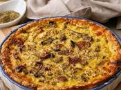 Bacon Mushroom Quiche (with Tastiest Crust Ever!)