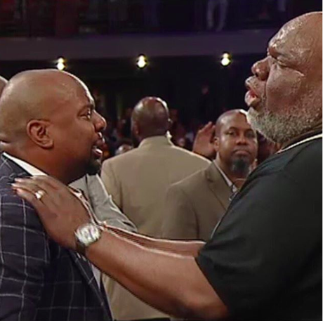 Quick Quotes: Pastor Chris Hill Is Ready To Minister Again..Thankful For Bishop Jakes