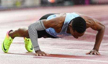 Who is the most popular athlete of IAAF 2017 ?  Isaac Makwala to run again in 200 M