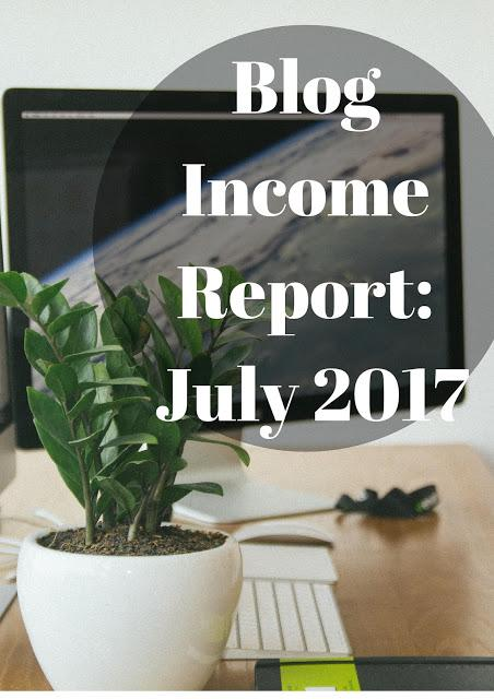 Blog Income Report: July 2017