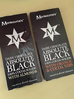 Montezuma's Absolute Black with Almonds/Orange & Cacao Nibs