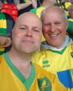 Norwich Who are You?: 'we couldn't even cheat properly, but watch Fulham!'