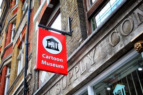 A #Cartoon & #ComicBook Tour Of #London No.11: The Cartoon Museum @Cartoonmuseumuk