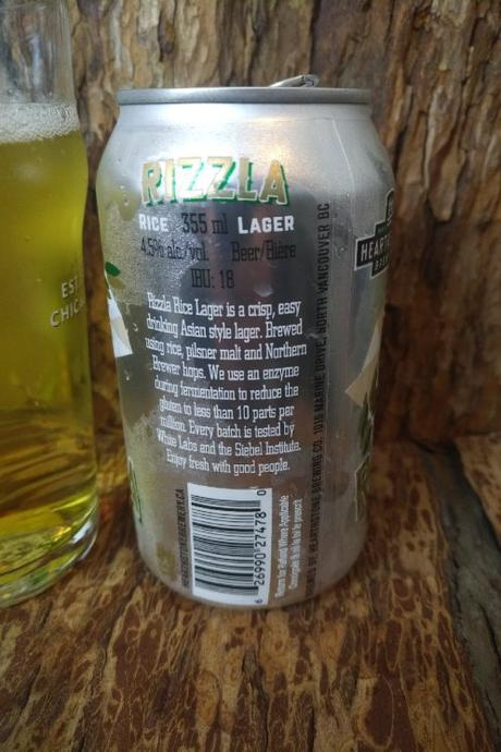 Rizzla Rice Lager – Hearthstone Brewery