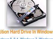 Partition Hard Drive Windows