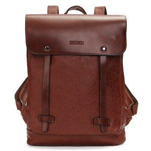 Vintage Retro Style Canvas Backpack