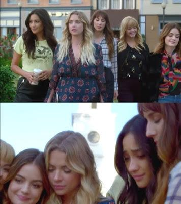 Pretty Little Liars – Because without fear, there can be no courage.