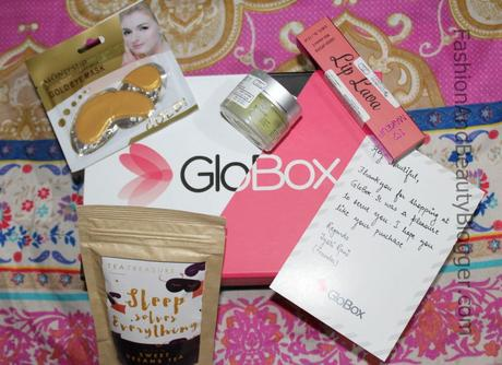 Unboxing and Review of August Glo Box