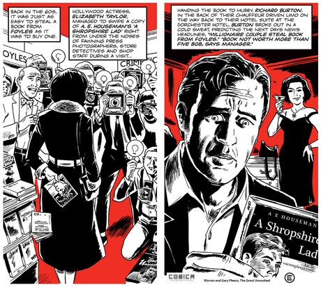 A #Cartoon & #ComicBook Tour Of #London No.12: London Explorer, Foyles & Charing Cross Road @Foyles