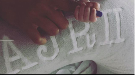Olympic Gold Medalist Sanya Richards- Ross & Husband Aaron Ross Welcome Baby Boy
