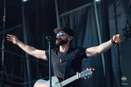 Out Of The Blue: Chad Brownlee at Boots & Hearts 2017