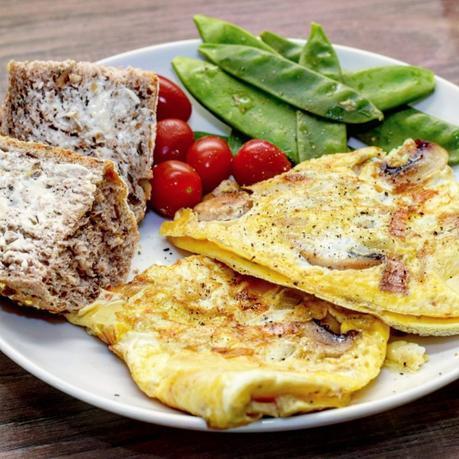 Recipe   Ultimate Mushroom & Cheese Omelette