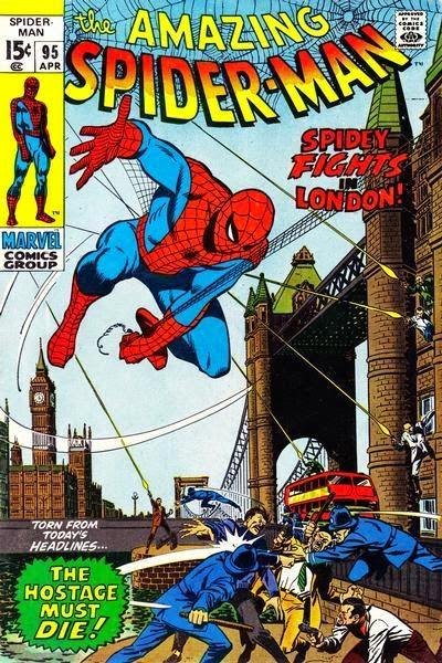 A #Cartoon & #ComicBook Tour Of #London No.13: Marvel In London