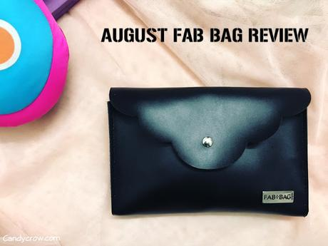 August 2017 Fab Bag Review