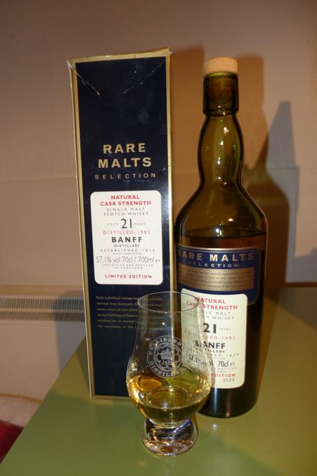Tasting Notes: Banff: Rare Malts 21 Year Cask Strength 1982