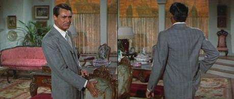 Cary Grant's Gray Plaid Summer Suit in An Affair to Remember