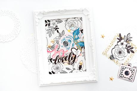 Crate Paper Design Team : So Lovely Altered Frame