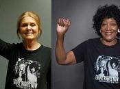 Gloria Steinem, Dorothy Pitman Hughes Iconic T-shirt Support Equal Rights Amendment