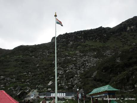 a pass at 14216 feet Nathu La ~ the great Indian Soldier protecting us ...