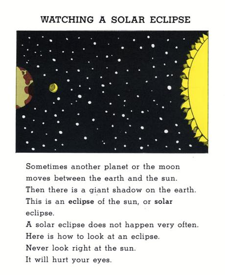 WATCHING A SOLAR ECLIPSE, from SUN FUN by Caroline Arnold