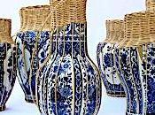 Blue White Basket Case!