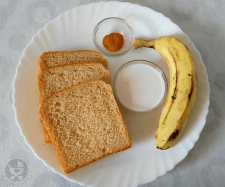 vegan banana coconut french toast