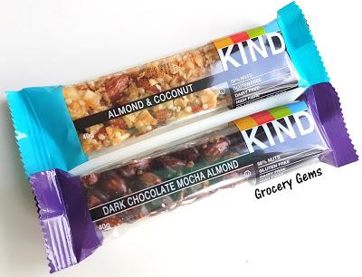 Review: KIND Bars - Almond & Coconut and Dark Chocolate Mocha Almond