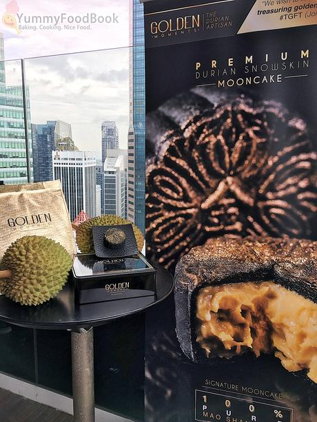golden moments durian snowskin mooncakes
